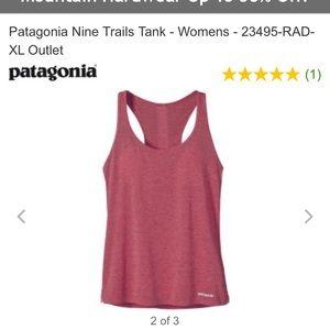 Patagonia Nine Trails Tank